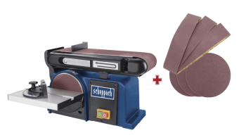 Тарельчато-ленточный шлифовальный станок BTS 900ScheppachBTS 900 - slide4