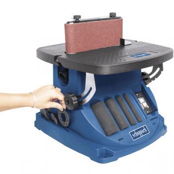 Осцилляционный шпиндельно-ленточный шлифовальный станокScheppachOSM 600 - slide3